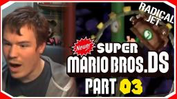 Its DKC ALL OVER AGAIN!! :  Newer Super Mario Bros DS Lets Play (03)