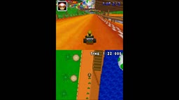 Mario Kart DS N64 Circuit Music Hack DKR Greenwood Village with N64 Choco Mountain instruments