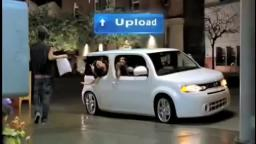 nissan cube ad but everything is just wrong