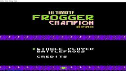 Ultimate Frogger Champion (DEMO) for NES