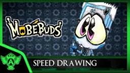 Speed Drawing: MobéBuds Geekwood (Concept 1) | Mr. A.T. Andrei Thomas