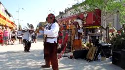 Clacton Town Red Indian music Part 3