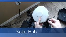 Expanding my Solar Power System with a 15watt panel and a Hub