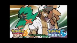 Pokemon sun and moon vs Champion