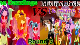 The Dazzlings VS Michael Jackson Round 3: Welcome To The Threatened Show (Fan Made Music Video)