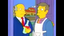 Steamed Hams but they have a debate over steamed hams and steamed clams