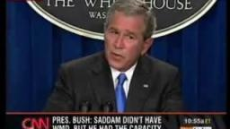 Bush Answers 911 Questions