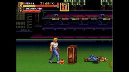 Streets of Rage 2 - Under Logic - Sega Genesis Gameplay