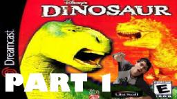 Charlie plays Disneys Dinosaur video game! Part 1