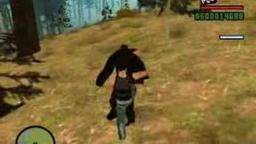 GTA SAN ANDREAS BIGFOOT VS SPIDERMAN (1 Million)