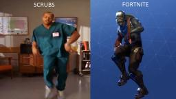 Did You Know? The Fortnite Default Dance Move Was STOLEN From Scrubs