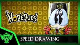 Speed Drawing: MobéBuds Classic Bulkey (Concept 1) | Mr. A.T. Andrei Thomas