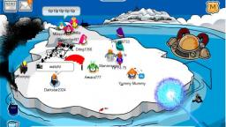club penguin how to tip the iceberg the only way!!!!