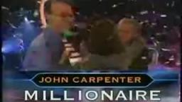 John Carpenter Goes For $1 Million (Who Wants To Be A Millionaire Primetime US)