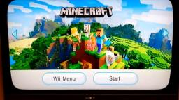Minecraft on the Wii