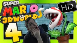 SUPER MARIO 3D WORLD 🐱 Part 4: Coole Schattenspiele mit Piranhas