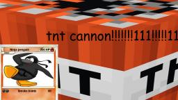 tnt cannon in minecraft (100% REAL)