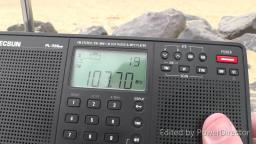 FM Radio Band Scan at Clacton On Sea Essex Beach July 2019