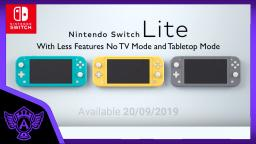 My Opinion on The New Nintendo Switch Lite With less features | Mr. A.T. Andrei Thomas