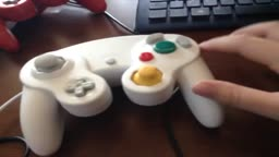 running vidlii on a gamecube controller