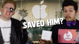 AIRPODS SAVED HIS LIFE???