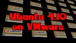 Installing Ubuntu 4.10 on VMware