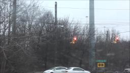 TRAFFIC LIGHTS IN BRENTWOOD LONG ISLAND NEW YORK STATE