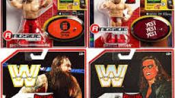 WWE retro figure collection