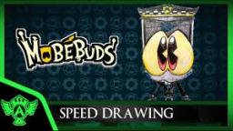 Speed Drawing: MobéBuds PC Micked (Concept 1) | Mr. A.T. Andrei Thomas