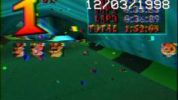 Racing for fun in Crash Team Racing