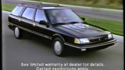 1988 Renault Medallion Commercial