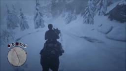 Red Dead Redemption 2 - Snow Effects - PS4 Gameplay