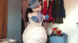 PAC animated lifesize snowman (better voltage / re upload)