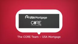 The CORE Team – Mortgage Companies in Mckinney, Texas
