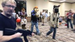 Furry Convention Shooting 100% REAL NOT CLICKBAIT