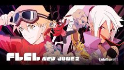 FLCL Progressive, Pokeamtics Toonami Reviews