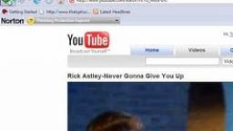 Youtube Rick Rolls the internet April 1st 2008