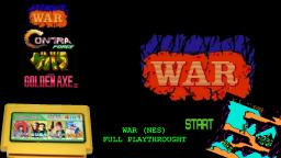 [NES] War (Bootleg) - Full Playthrough