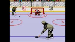 Mario Lemieux Hockey - Shootout - Sega Genesis Gameplay