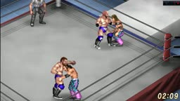 The Revival vs. The Young Bucks - Tornado Tag Team Match - Fire Pro Wrestling World