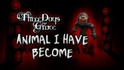 (Roblox Music Video) Animal I have Become -Three Days Grace