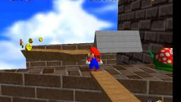 Lets play super mario 64 part 1