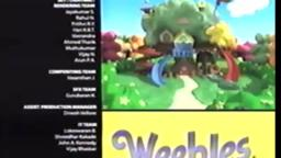 Weebles sharing in the fun credits with Farmer Brown Takin Air Audio