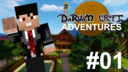 [DARVOMCRAFT ADVENTURES] Ep. 01 - Nuovo Inizio (Modded Minecraft ITA - Showcase - Darvom Farmhouse)