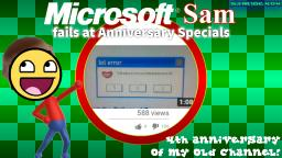 Microsoft Sam fails at Anniversary Specials