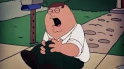 Peter Griffin Hit the floor