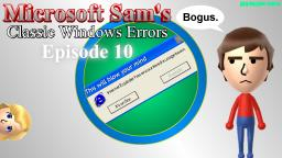 Microsoft Sams Classic Windows Errors (Episode 10)