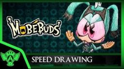 Speed Drawing: MobeBuds Riphop (Concept 1) Mr. A.T. Andrei Thomas