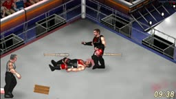 Kevin Steen vs. Kevin Owens with Special Referee Mr. McMahon - Barbed Wire Deathmatch