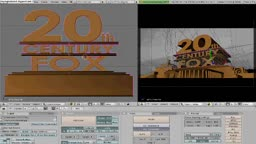 HOW TO Create the 20th Century Fox intro with Blender